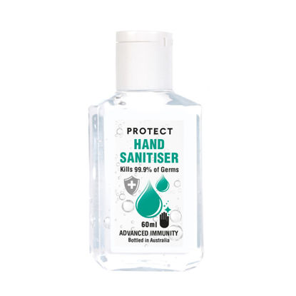60ML Hand Sanitiser (65% alcohol) (Total 200)