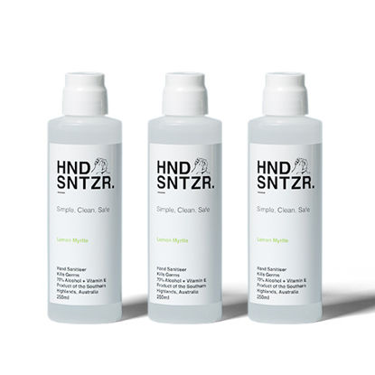 HND SNTZR Gel 250ml HDPE w/ disc top cap (Total 24 Bottles)