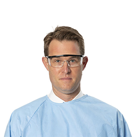 Protective Eyewear Over Glasses (Total 1 pair)
