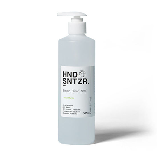 HND SNTZR Gel 500ml HDPE w/ pump (Total 12 Bottles)