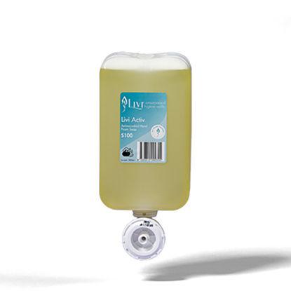 Soap, Antimicrobial. Foam Cartridge. LIVI Activ. 1ltr. 6 Cartridges. Solaris Code S100