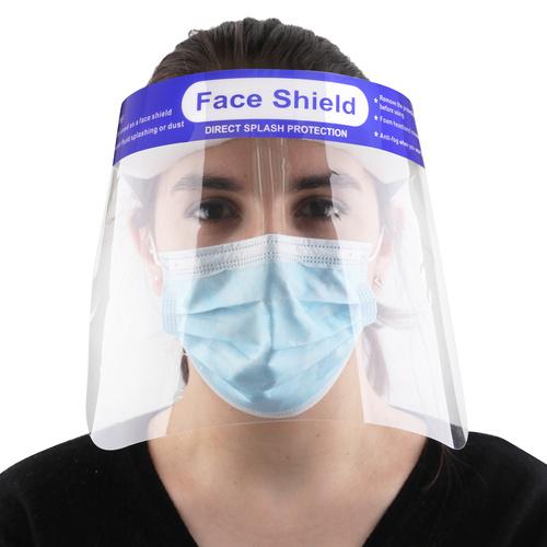 Face Shield. TGA. Clear Anit-Fog- 10/Case