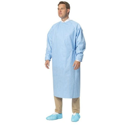 Gown, Isolation. AAMI Level 3. TGA. Fluid Resist. 10 x 10 packs Total 100 Gowns