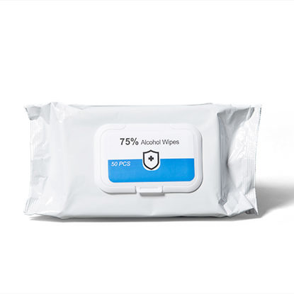 Surface Wipes. Anti-Bac. 75% Alcohol. 50 sheets x 32 Packs. Total 1,600 wipes