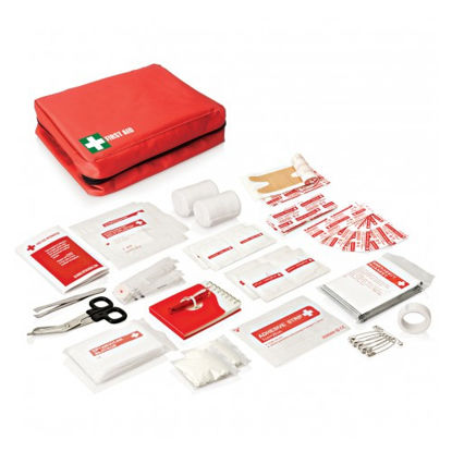 First Aid Kit. Folding. 19 pieces