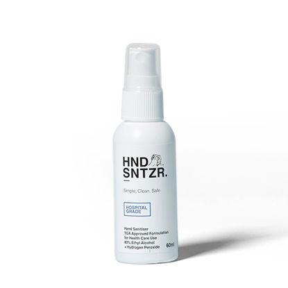 Hand Sanitiser Spray. HND SNTZR. 80% Alcohol. 60ml. 70 Bottles