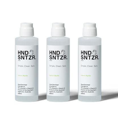 Hand Sanitiser. HND SNTZR. 70% Alcohol w Vit E. 250ml. 24 Bottles