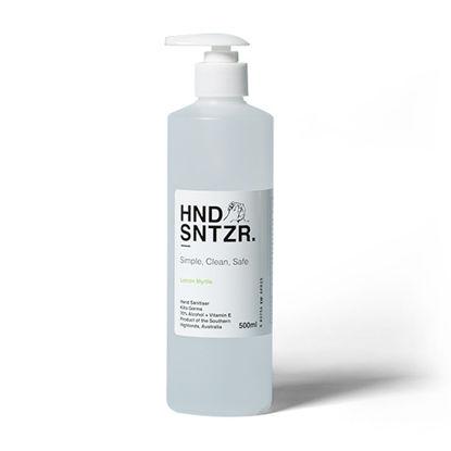 Hand Sanitiser. HND SNTZR. 70% Alcohol. 500ml. 12 Bottles